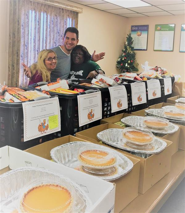 Outlook Academy helps feed families in need
